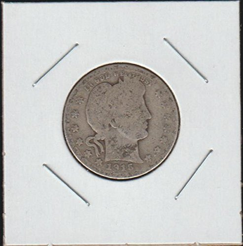 1915 D Barber or Liberty Head (1892-1916) Quarter Good