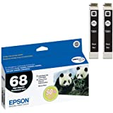 Epson T068120-D1 Ink Cart Hi capacity Dual Pack-Black