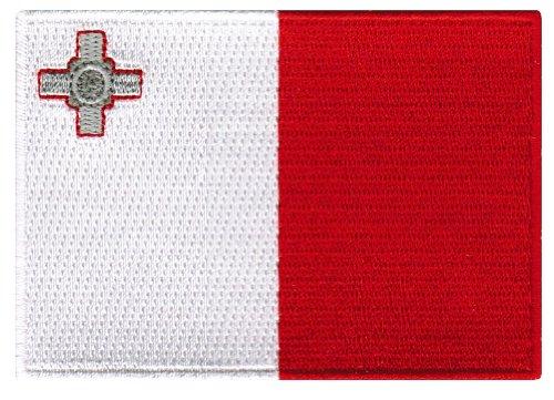 Malta Flag Embroidered Patch Maltese Iron-On National - Malta Of Men