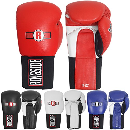 Ringside Boxing Kickboxing Muay Thai Training Punching Bag Mitts IMF Tech Hook & Loop Sparring Gloves – DiZiSports Store
