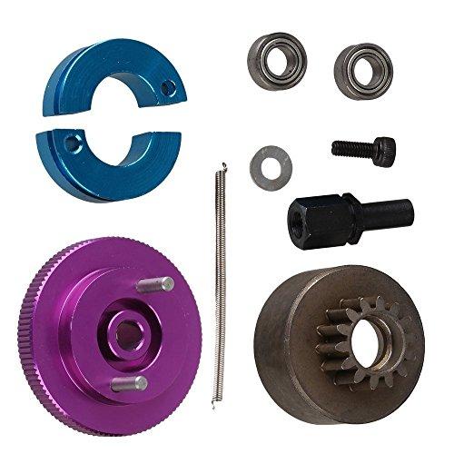 - Yiguo RC 1:10 Car Upgrade Parts Purple Aluminum Alloy 14T Clutch Flywheel Set T10093