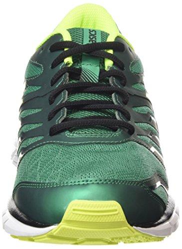 ASICS - Gel-zaraca 4, Zapatillas de Running hombre Verde (pine/flash Yellow/black 8807)