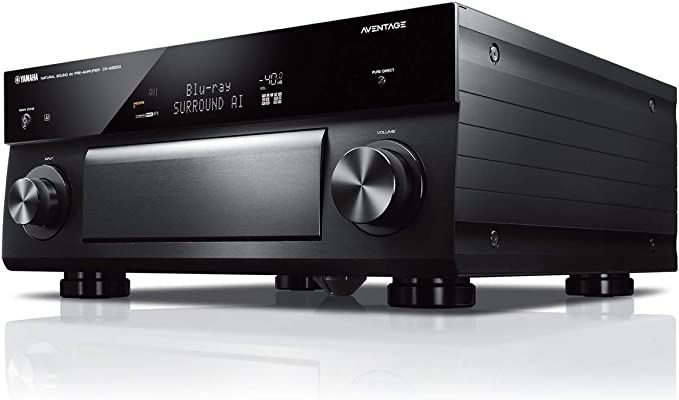 Amazon.com: Yamaha CX-A5200 AVENTAGE 11.2-Ch AV Preamplifier with 4K Ultra HD HDR Dolby Vision Dolby Atmos Wi-Fi Phono & MusicCast Black: Electronics