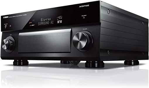 Yamaha CX-A5200 AVENTAGE 11.2-Ch AV Preamplifier with 4K Ultra HD HDR Dolby Vision Dolby Atmos Wi-Fi Phono & MusicCast Black