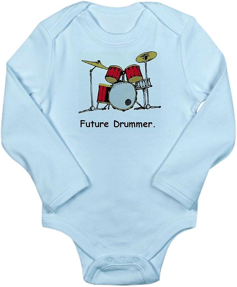 CafePress Future Drummer Body Suit Baby Bodysuit