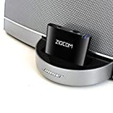 ZIOCOM 30 Pin Bluetooth Adapter Receiver for iPhone