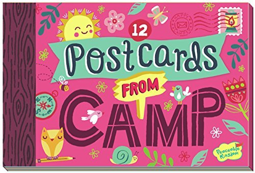 - Peaceable Kingdom Postcards from Camp 12 Postcard Booklet
