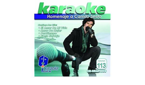 Camilo Sesto - KBO-113 Homenaje A Camilo Sesto(Karaoke) - Amazon.com Music