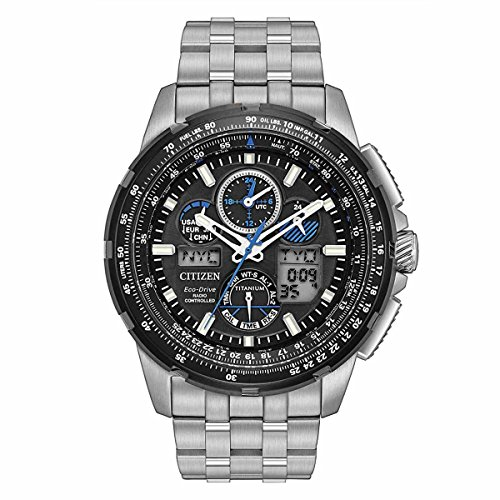 Citizen Men's Limited Edition Promaster Skyhawk A-T Super Titanium Silver Watch (56e Watch)