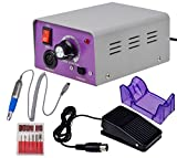 Marketworldcup - Professional Electric Nail File Acrylic Manicure Drill Sand Machine Kit 110V