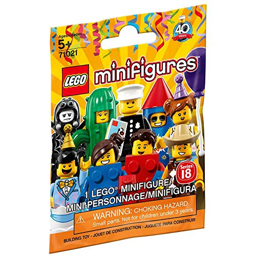 (LEGO Series 18 Costume Collectible Minifigures - Set of 16 Minifigures SEALED)