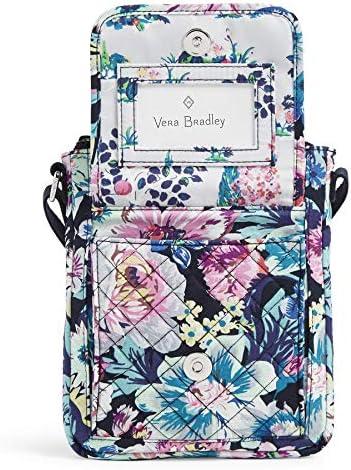 Vera Bradley Women's Signature Cotton Mini Hipster Crossbody Purse with RFID Protection