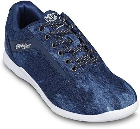 KR Strikeforce Womens Nova Lite Bowling Shoes- Denim Sparkle