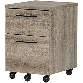 Amazon Com South Shore Munich Industrial Design 2 Drawer