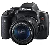 cover of Canon EOS Rebel T6i Digital SLR with EF-S 18-55mm IS STM Lens - Wi-Fi Enabled