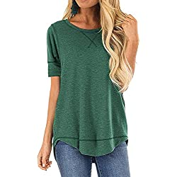 JomeDesign Womens Fashion Blouses 2019 Green
