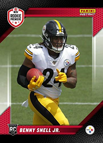 2019 Panini Instant RPS Rookie Premiere First Look FL34 Benny Snell Jr Pittsburgh Steelers RC Official NFL Football Trading Card Only 87 Produced from Instant First Look
