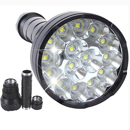 Pocketman 15 X Cree Xm-L T6 5-mode 18000 Lumens LED Flash...