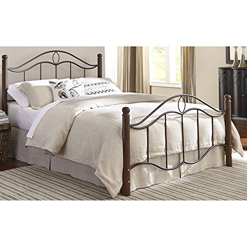 King Post Panel Bed - 9