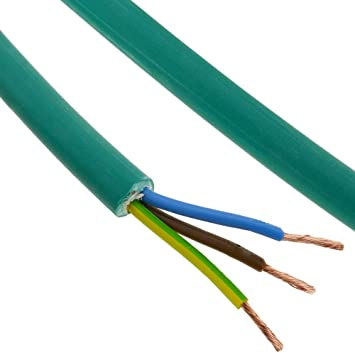 BeMatik - Bobina de Cable eléctrico de 3 Polos x 2.5 mm² 100 ...