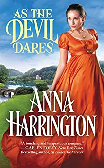 As the Devil Dares (Capturing the Carlisles) by [Harrington, Anna]