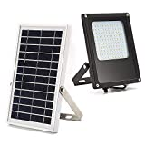 TOOGOO Solar Powered Led Flood Light, IP65 Waterproof Outdoor curity Flood Light Fixture for Flag Pole, Sign, Garden, Farm, Shed, Boat, Camping, Garage,Auto-on/Off Dusk to Dawn