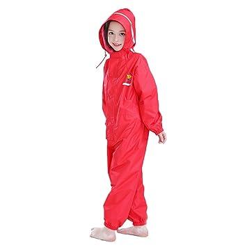 Vine Toddler Rain Suit Baby Rain Suit with Hood Waterproof Coverall One Piece Rain Suit Kids Muddy Buddy 2-12 Years