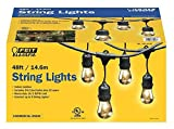 Feit Electric 48ft / 14.6m Outdoor String Lights(48 Feet)