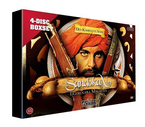 Sandokan - The Tiger of Malaysia - 4-DVD Set ( Der Tiger von Malaysia (Il Tigre - Abenteuer in Fernost) ) [ NON-USA FORMAT, PAL, Reg.0 Import - Denmark ]
