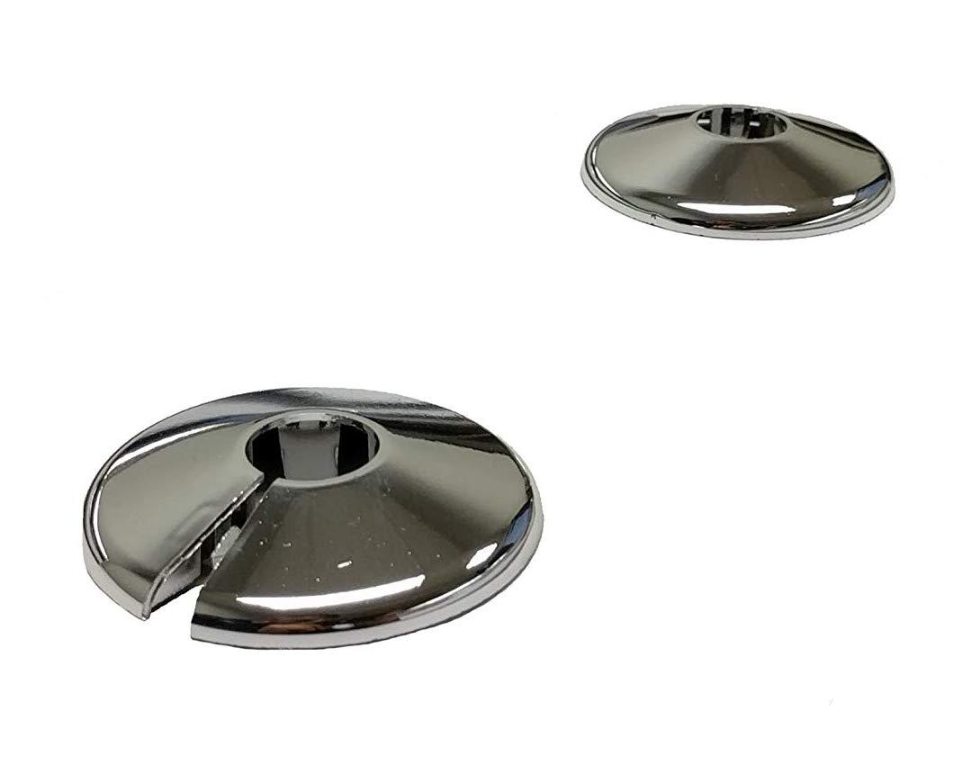 Arandelas de Cromo para Tuberí as de Radiador x 2 15mm Home Fusion company