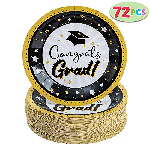 JOYIN 72 Pcs Graduation Party Supplies 9