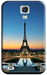 Close to Eiffel Tower Hard Back Shell Case / Cover for Galaxy S4