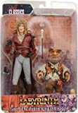 """Neca Labyrinth Jareth and Hoggle 7"""" Action Figure 2 Pack"""