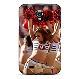 Hot Fashion GReQf2466Ewpem Design Case Cover For Galaxy S4 Protective Case (san Francisco 49ers Cheerleader Uniform)