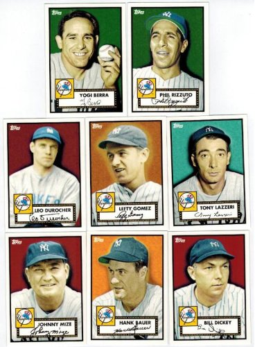 Topps New York Yankees 27 Time World Championship Factory Sealed Complete Box Set with 1952 Mickey Mantle,Babe Ruth,Derek Jeter and More !