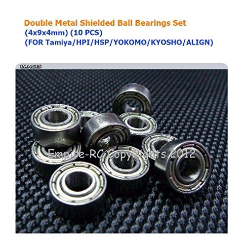 10 pcs 684ZZ  4*9*4  4x9x4mm Metal Shielded Ball Bearing Bearings