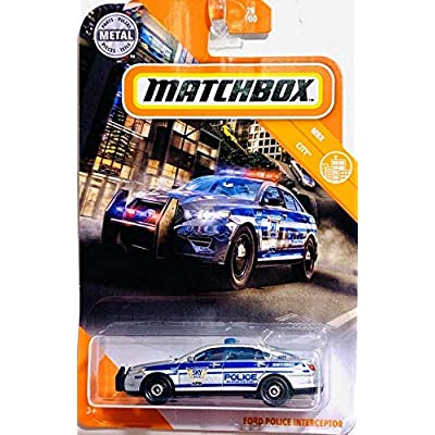 Matchbox Ford Police Interceptor: Toys & Games