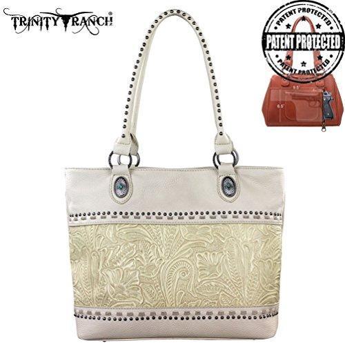 montana-west-tr20g-8317-trinity-ranch-tooled-design-concealed-handgun-beige-western-handbag-purse