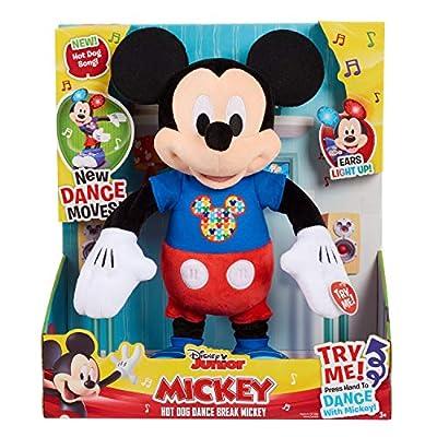 Mickey Mouse Hot Dog Dance Break Mickey Plush: Toys & Games