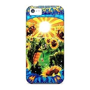 MansourMurray Iphone 5c Scratch Resistant Hard Phone Case Unique Design Stylish Grateful Dead Skin [IiU4319GYgo]