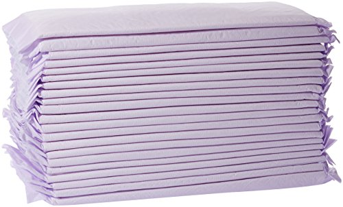 AmazonBasics Cat Litter Box Pads - Pack of 20, Unscented from AmazonBasics