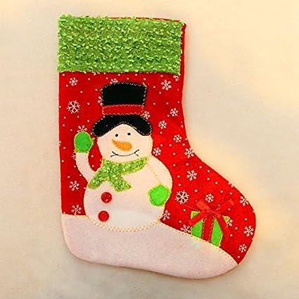 Elegante y Impresionante Bolsa de Regalo para Fiestas, Calcetines de Navidad Personalizados