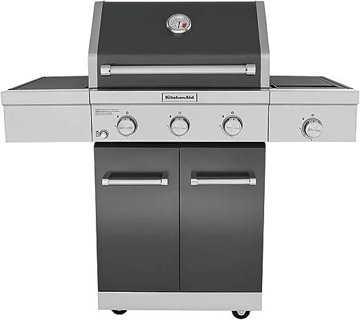 KitchenAid 720-0953A Full-Size Propane Gas Grill, Slate