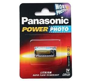 Panasonic CR123 - Pila recargable (10 unidades)
