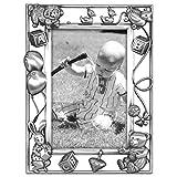 Malden International Designs Nursery Parade Picture Frame, 4x6, Silver