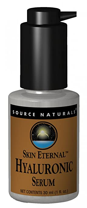 Source Naturals, Skin Eternal, Hyaluronic Serum, 1 fl oz (pack of 2) Body Drench Quick Tan Sleep Gel Mask