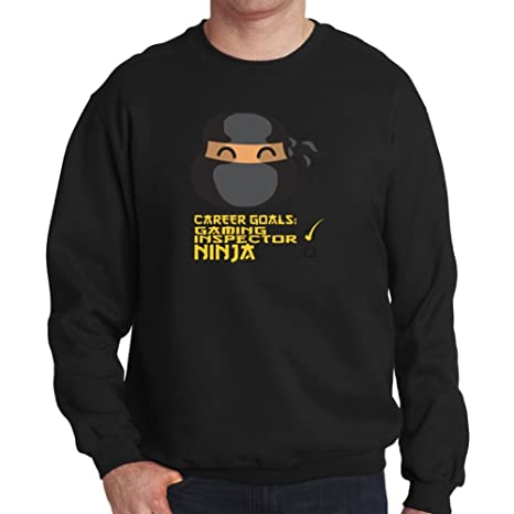 Sudadera Career Goals Gaming Inspector Ninja: Amazon.es ...