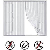 Malla mosquitera para ventana 3 rollos de cintas autoadhesivas iFCOW blanco 1197888//12043517