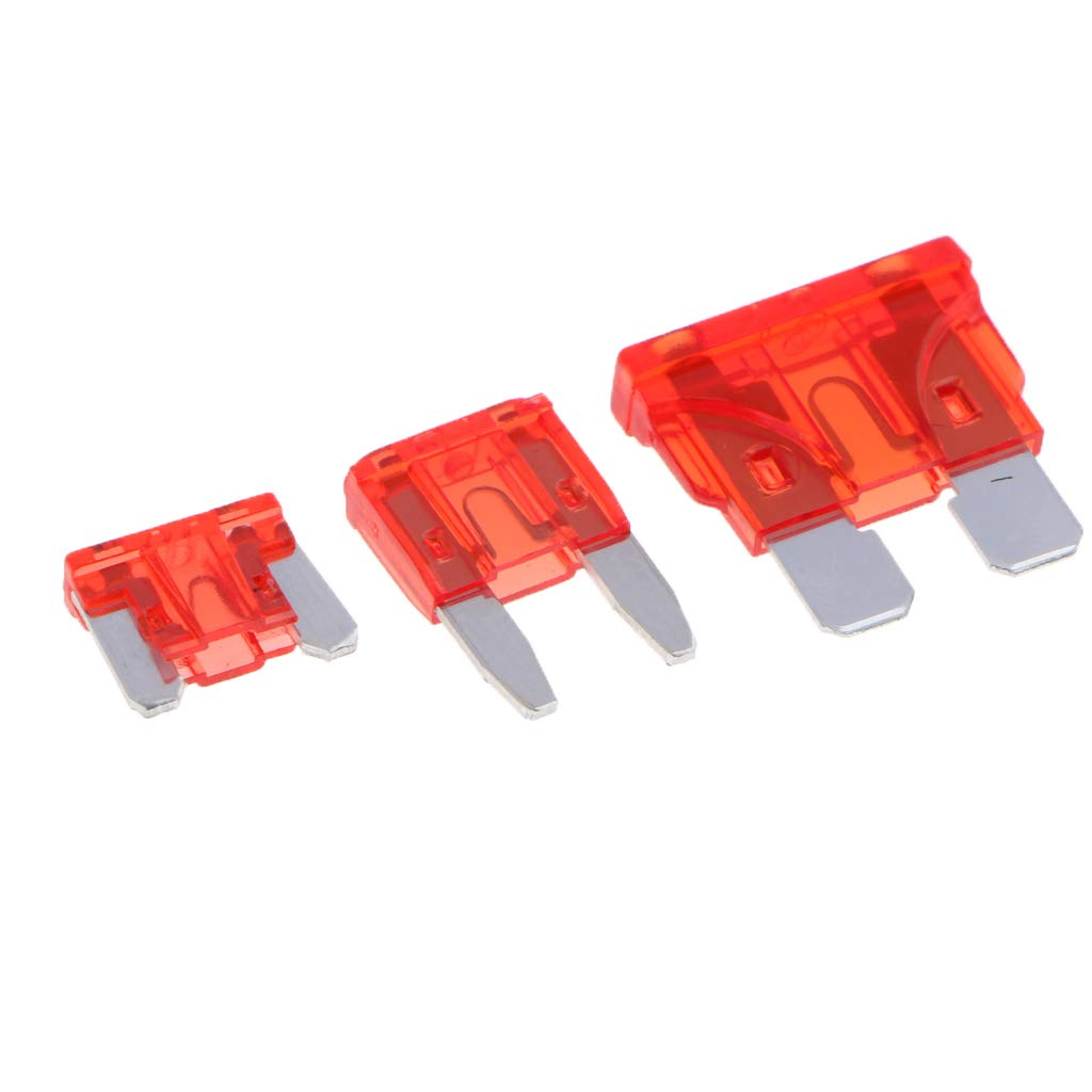 Almencla 270x Standard Auto Sicherungen Set Flachsicherung KFZ Sicherungen Set ma/ßgebend Autosicherungen 2A 3A 5A 7.5A 10A 15A 20A 25A 30A 35A 40A