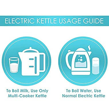 iBELL 1500 W Stainless Steel High Polished Electric Kettle 13